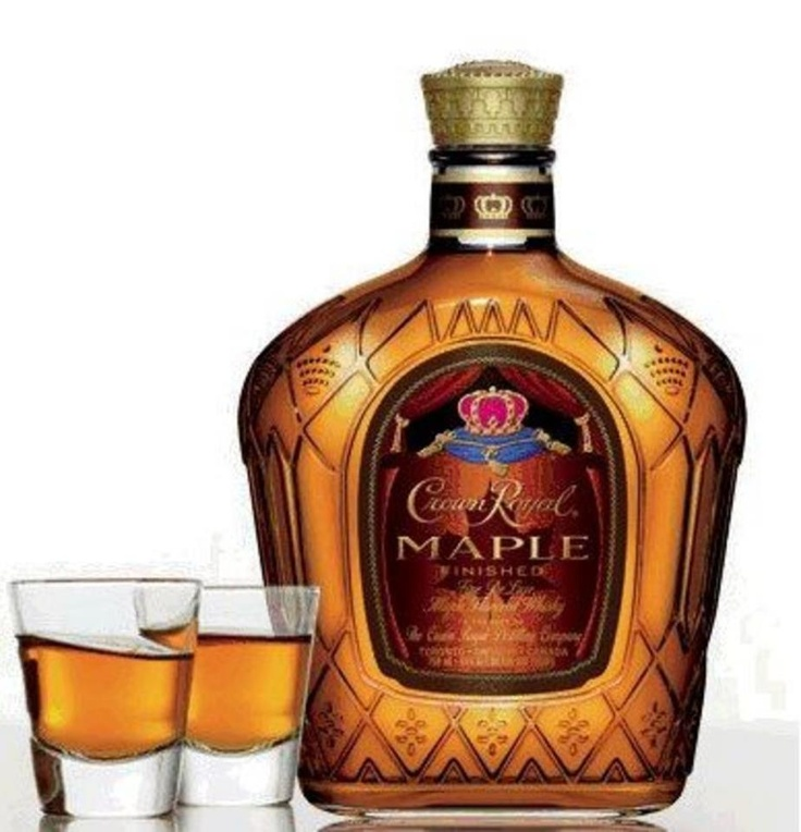 Maple Crown Royal...mmmmmm! Viva Canada!!!