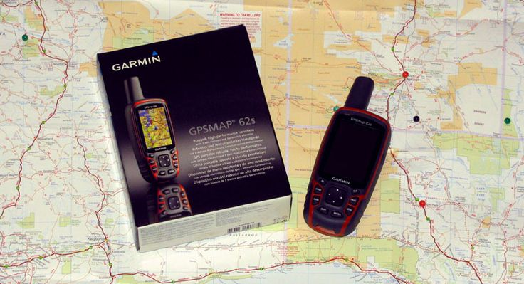 Garmin GPSMAP 62s : Riding shotgun