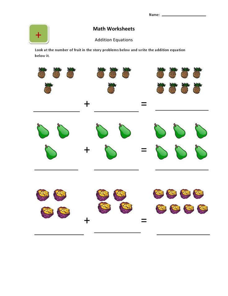 Ukg Worksheets Addition Worksheets English Worksheets For Kindergarten Kindergarten Worksheets