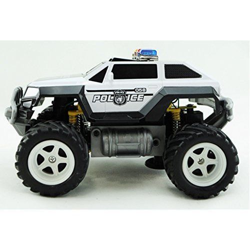 Car Toys For Boys Police Jeep Remote Control Cars Birthday Gift Play Fun Toy NEW #PrexBrand
