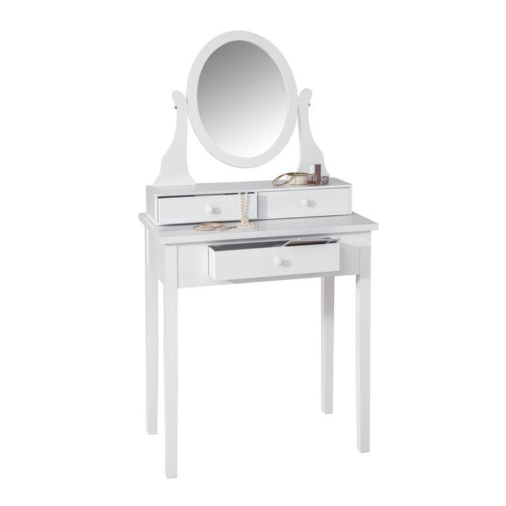 Schminktisch, Weiße Möbel