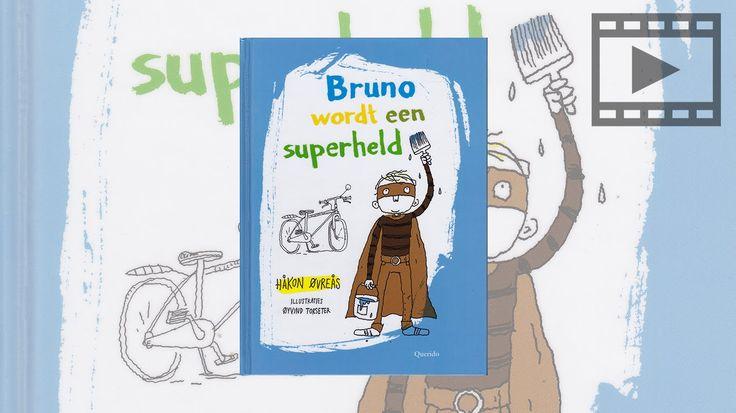 'Bruno wordt een superheld' is een hartveroverend boek over vriendschap en moed, dat werd bekroond als beste Noorse kinderboek van het jaar. Geschreven door: Hakon Ovreas (vertaald door Edward van de Vendel) met illustraties van Oyvind Torseter