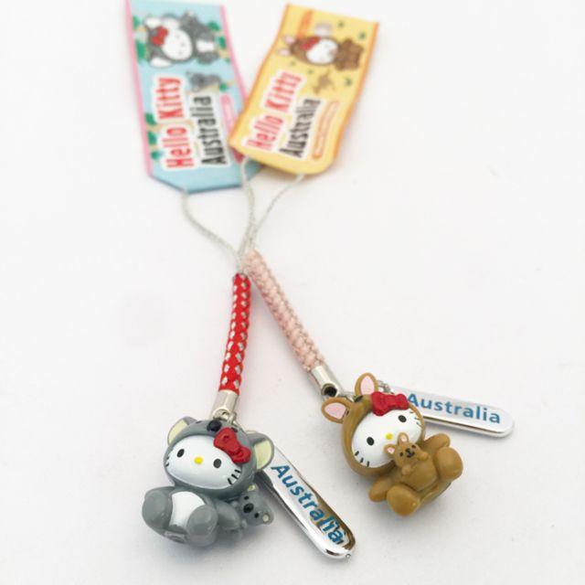 Hello Kitty Australia phone charm