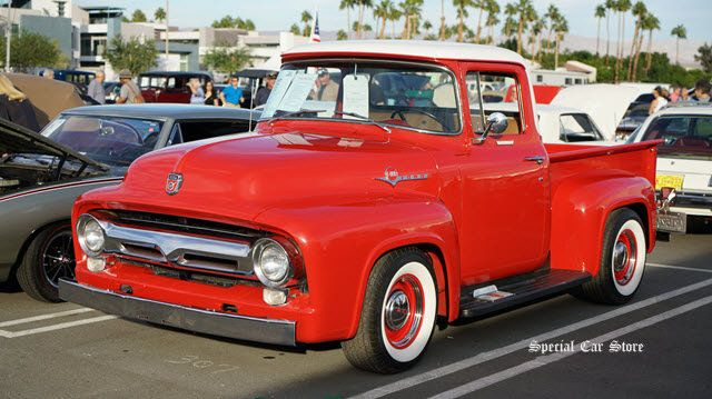 1956 Ford F100 Pickup sold at McCormick's Collector Car Auction 63 http://www.specialcarstore.com/content/mccormicks-collector-car-auction-63-results