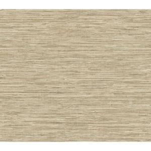 The Wallpaper Company 56 sq. ft. Beige Grasscloth Wallpaper - Model # WC1281776 at The Home Depot