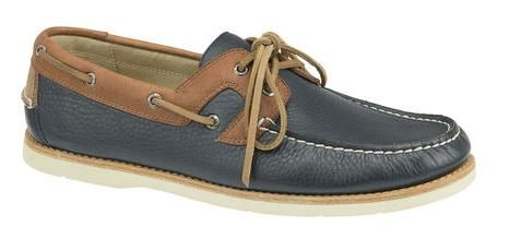 Mayfield Two Eye Boat - Color: Navy/ Brown - Style number: 025-00257 - Price: 4.300.000vnd
