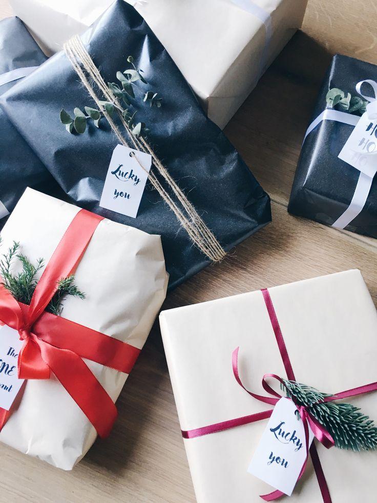 Julegaver - indpakning