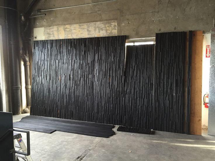 Charred Wood Wall In 2019 Shou Sugi Ban Mur En Bois