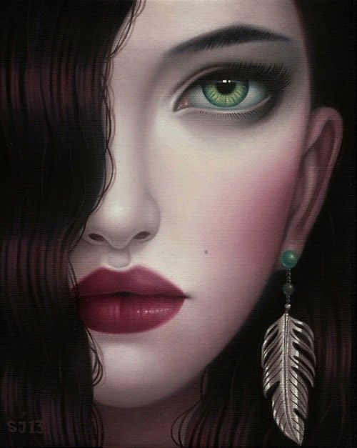 share、art illustration girl fantasy
