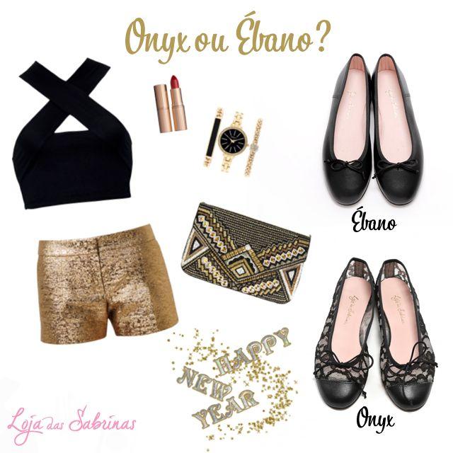 Está a chegar uma das noites mais glamurosas do ano. Surpreenda com um look à altura da ocasião! Por qual optava: Onyx ou Ébano? http://www.lojadassabrinas.com/category/loja