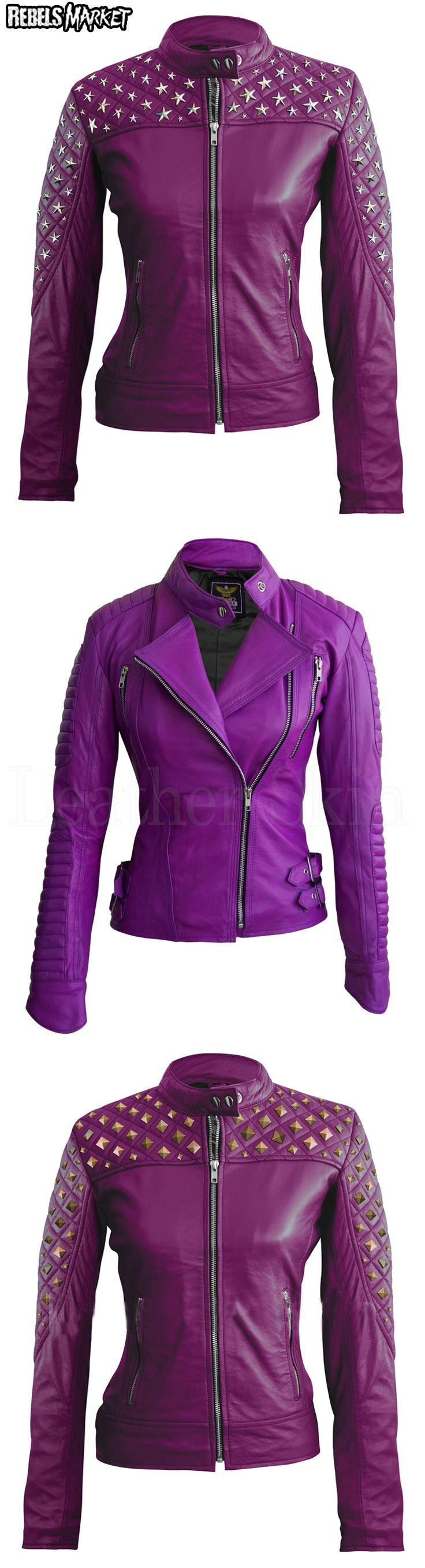 Best 25  Purple leather jacket ideas on Pinterest | Purple jacket ...
