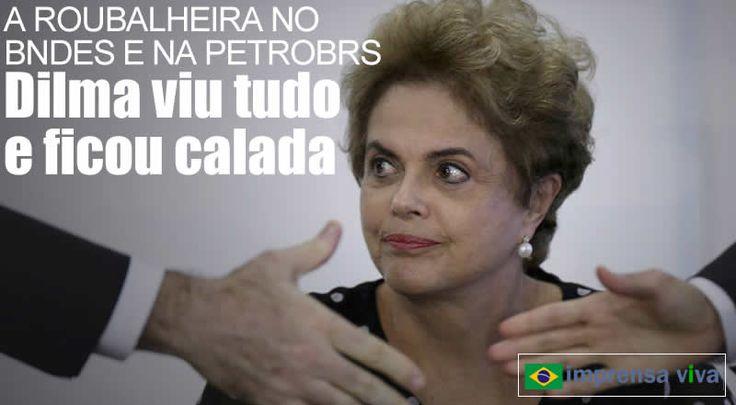 A ex-presidente Dilma Rousseff está segura de que não há provas que a incriminem em relação aos desvios bilionários ocorridos na Petrobr...