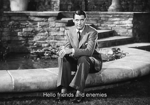 Cary Grant in The Philadelphia Story | 23 Classic Hollywood GIFs That Are Better Than A Time Machine