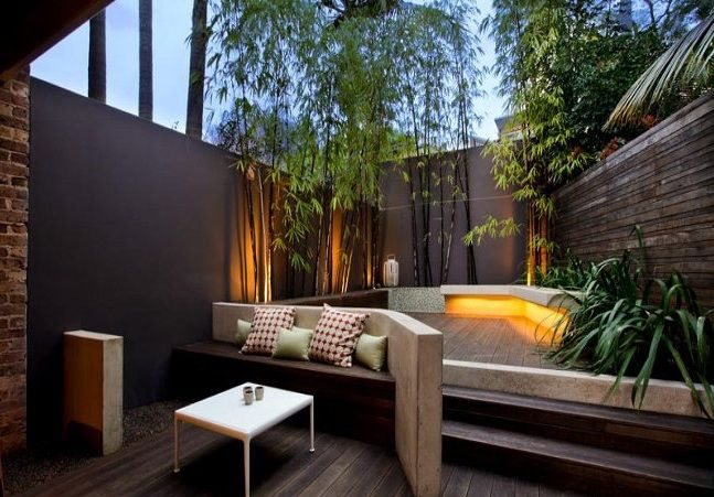 From the small garden blog here s proof that clever for Exterior house design for small spaces