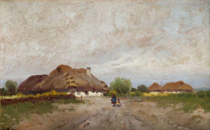 Adam Setkowicz - Chaty we wsi