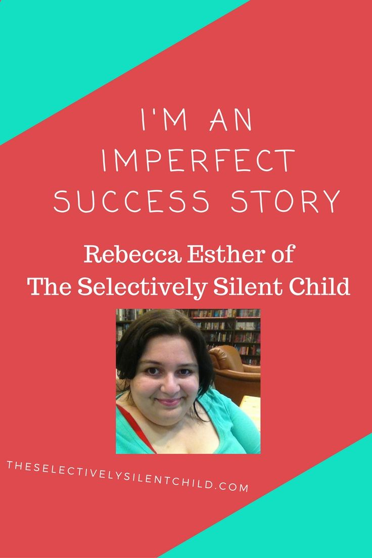 Rebecca Esther of The Selectively Silent Child used to be too scared to talk at school. Now she's a mental health coach who helps kids with Selective Mutism.