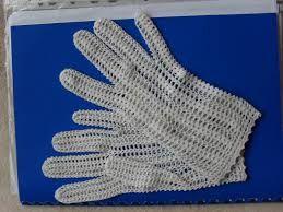 Znalezione obrazy dla zapytania rękawiczki na szydełku wzór