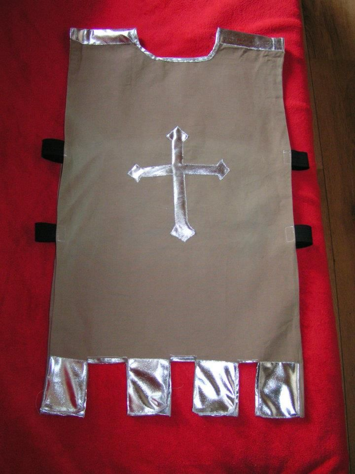 KNIGHT / CHEVALIER / RIDDER - COSTUME - Costume knight front