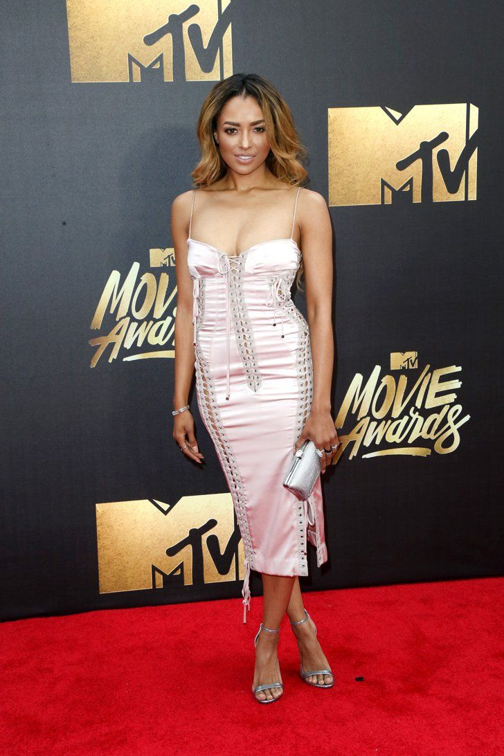 Pin for Later: Seht die Stars auf dem roten Teppich der MTV Movie Awards Kat Graham