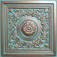 """Amazon.com - Antyx Antique Copper Patina (24x24"""" Pvc) Ceiling Tile - Decorative Tiles"""