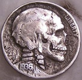 Hobo Nickels from the early 1900's, so amazing!