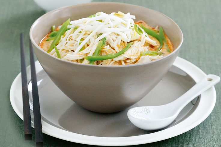 Chicken laksa recipe