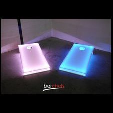 BarChefs  - Light Up 4x2 Cornhole Regulation Size - Glowing Bag Toss Set, $530.01 (http://barchefs.com/glowing-4x2-cornhole-regulation-size-two-board-set/)