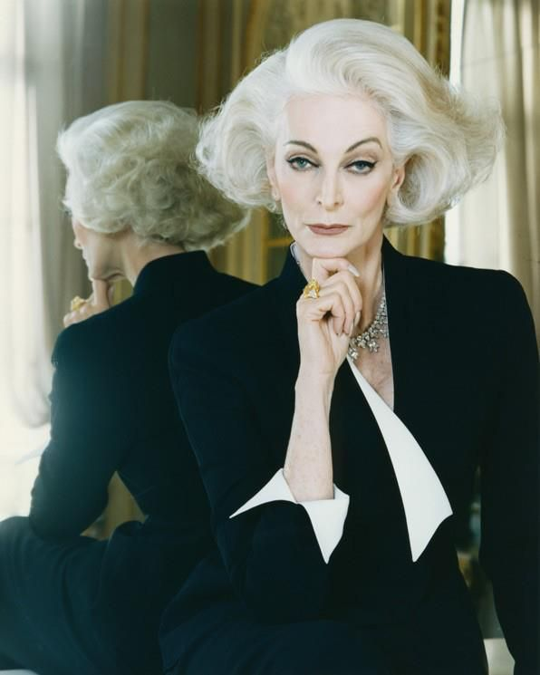 Carmen dell'Orefice - now, seriously, isn't this Cruella deVille?