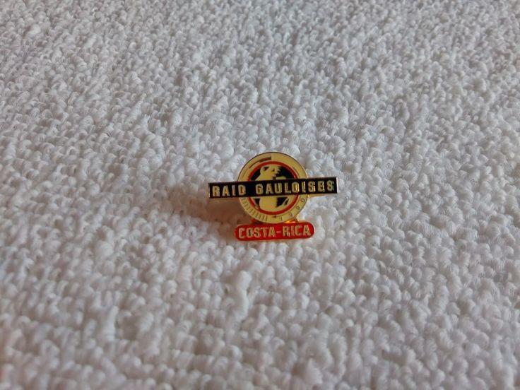 Vintage Raid Gauloises Costa Rica 1990 Endurance Race pin badge