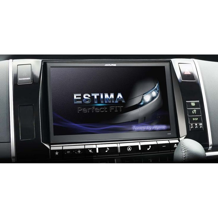 Alpine X009E-ES 9 inch All in one Navigation System for Toyota Estima (2012-)