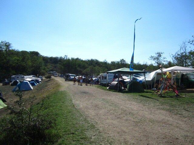 'Ozora festival' Road to campsite