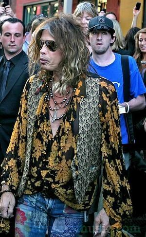 I love Steven Tyler for his Boho Style and Compassionate heart!