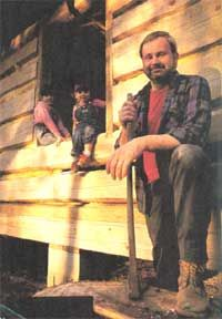 Dick Sellers dreamed of building his own log cabin, and he didn't let setbacks keep him from making that dream come true. Lengthy and detailed.