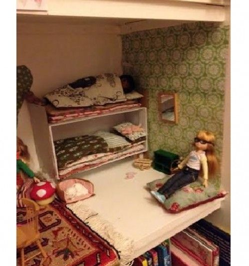 making doll furniture. making doll bedding for lottie dolls lettice crafts london furniture