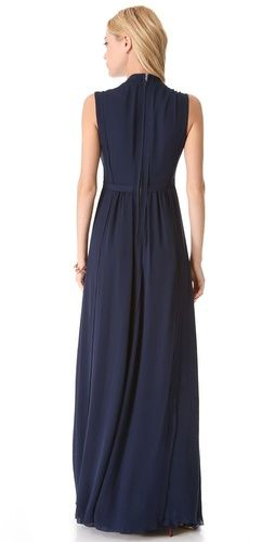 Rebecca Taylor Pleated Maxi Dress | SHOPBOP