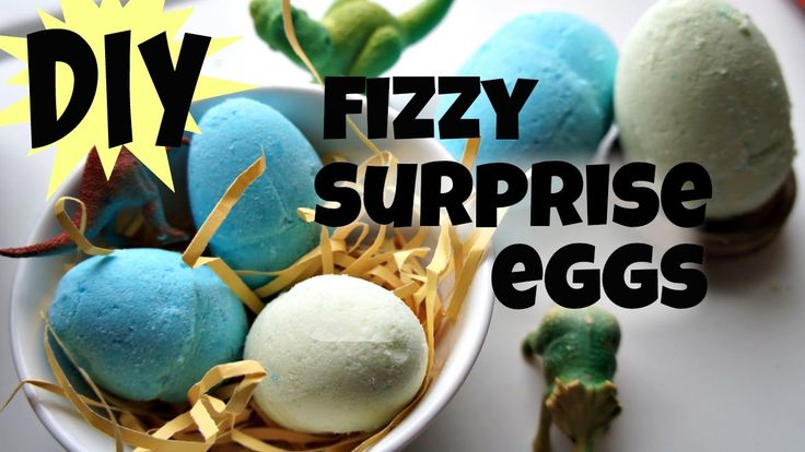 How to Make Surprise Fizzy Dinosaur Eggs - Bath Bomb Recipe