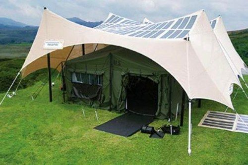 US Army testing solar powered tents for troops, gadget addicted campers -- Engadget