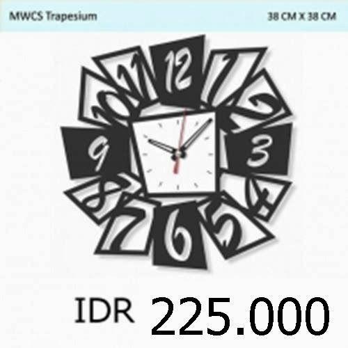 MWCS Trapesium - GALLERY JAM DINDING UNIK