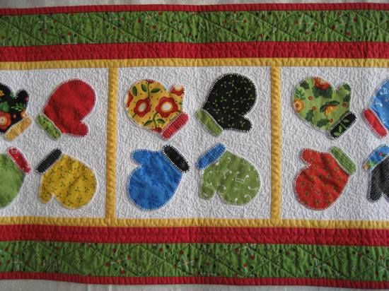 Beautiful as Wall Quilt Size in Bright Colors for Children.