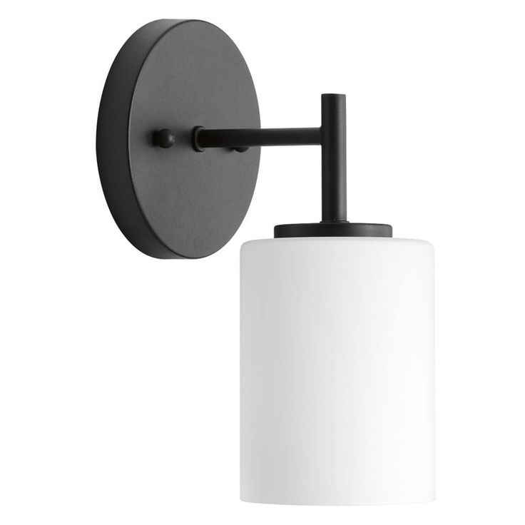 Progress Lighting Replay Black Sconce at Destination Lighting