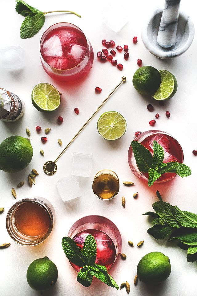 "life1nmotion: "" Spiced Pomegranate Cocktail. """
