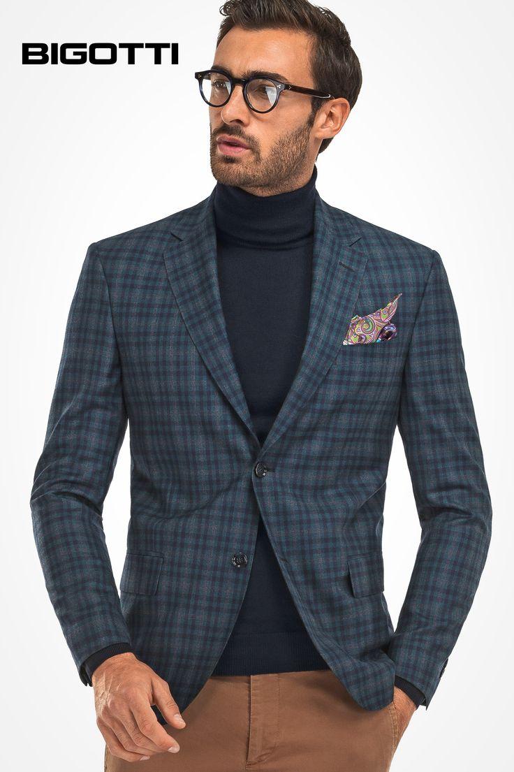 The #plaid #blazer - a #major #piece to #wear #right #now, but also in the #spring! www.bigotti.ro #Bigottiromania #moda #barbati #stilmasculin #sacouri #carouri #mensfashion #menswear #mensclothing #mensstyle #fashiontag #ootd #ootdmen #stylingtips #inspiration