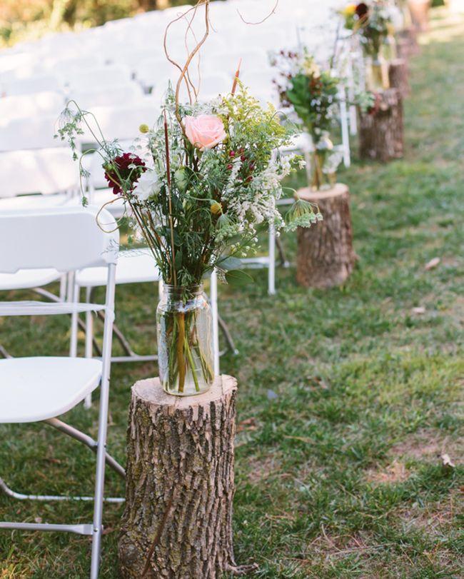 Natural y romántica boda al aire libre | Estilo Escandinavo