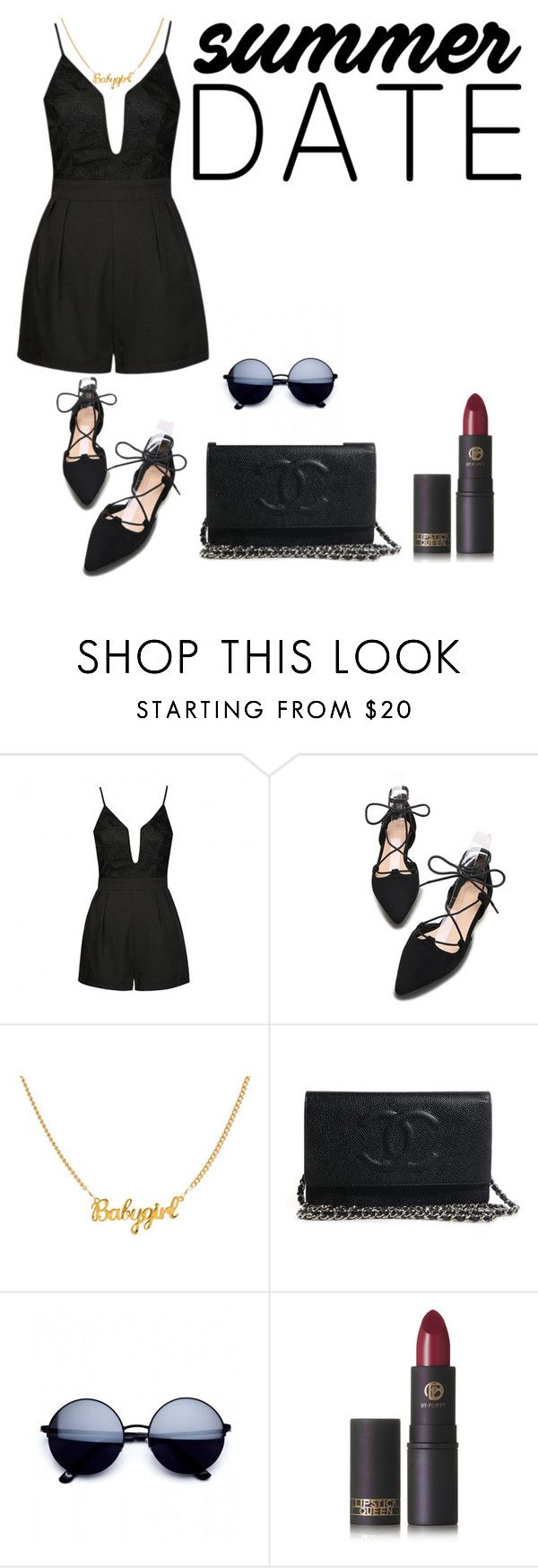 """"" by saraprifti on Polyvore featuring Ally Fashion, Lipstick Queen, statefair and summerdate"