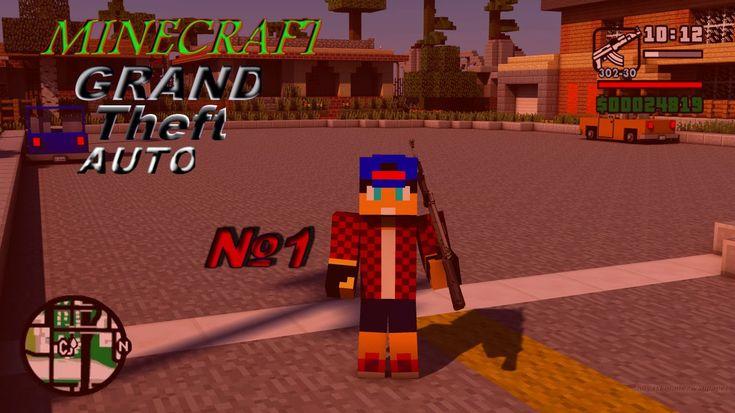 Minecraft Walking Dead №1 - Рик Граймс