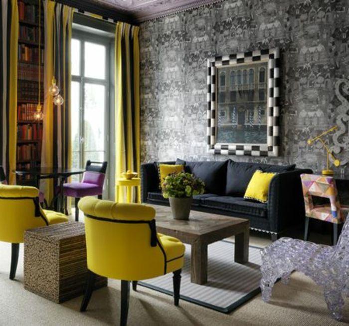 17 Meilleures Id Es Propos De Salons Rectangulaire Sur Pinterest Plans De Chambre Familiale