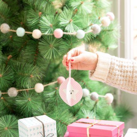 Descargable - Adornos de papel para el árbol de Navidad. | by Mr. Wonderful*