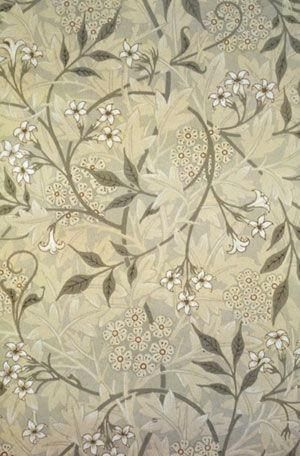 Jasmine Wallpaper, 1872 by William Morris by lynnette
