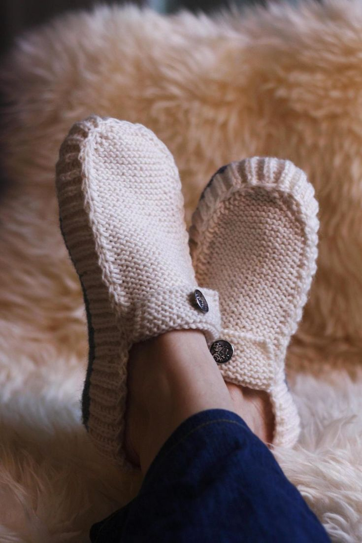 Knit your way to cozy toes.