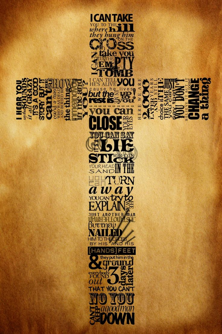 Cross Typography by Neville Brody